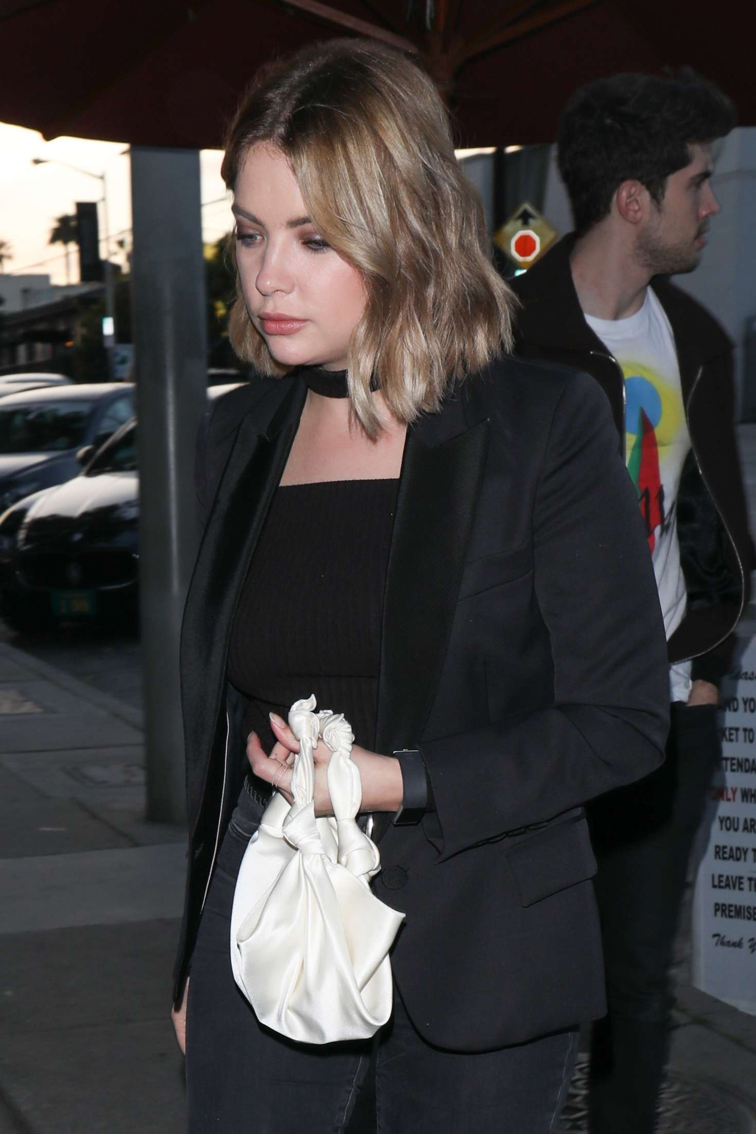 Ashley benson arriving to catch la for dinner in la - 2019 year