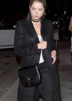 Ashley Benson at Catch Restaurant in West Hollywood