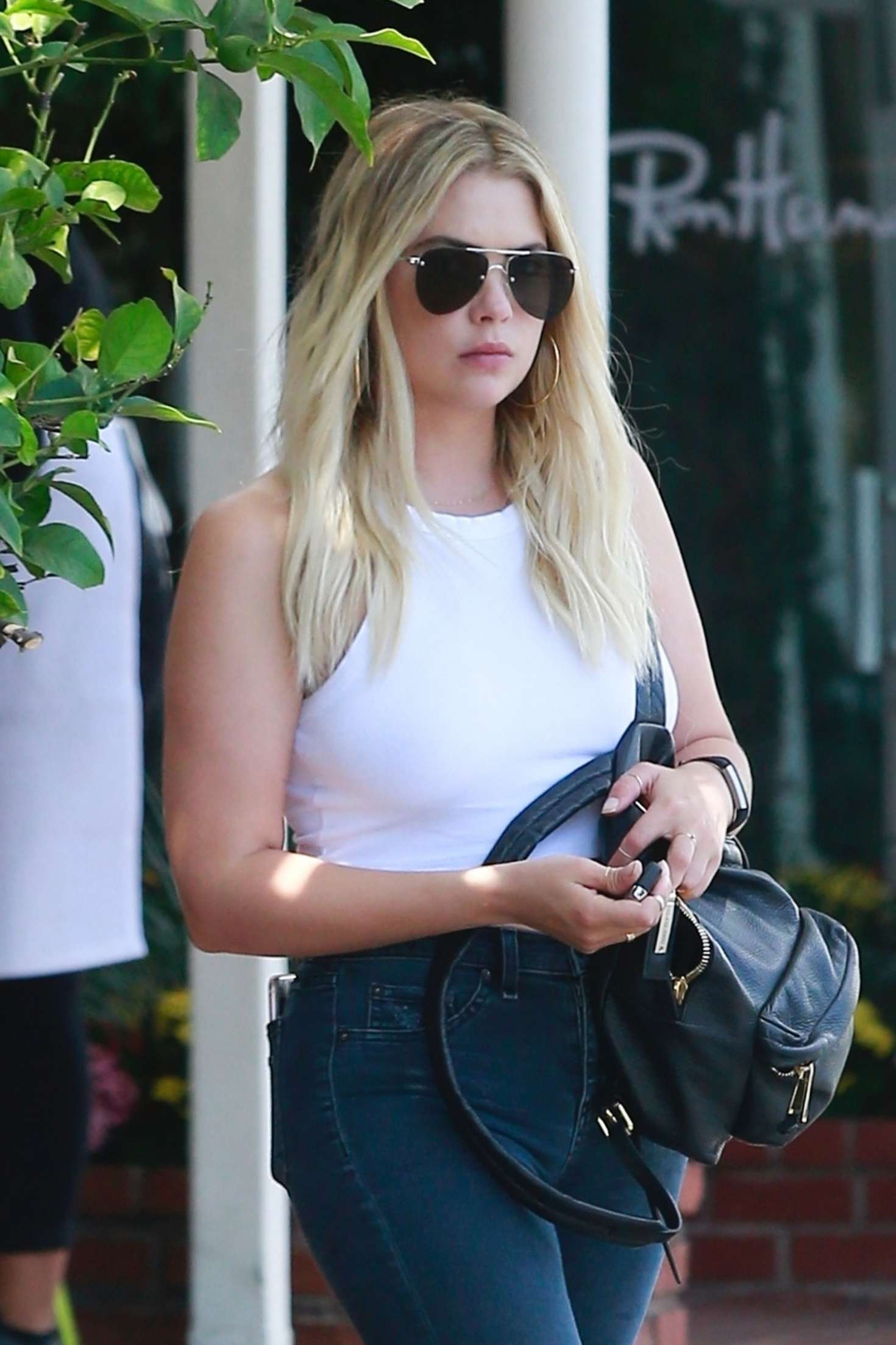 Ashley Benson at Fred Segal in Hollywood