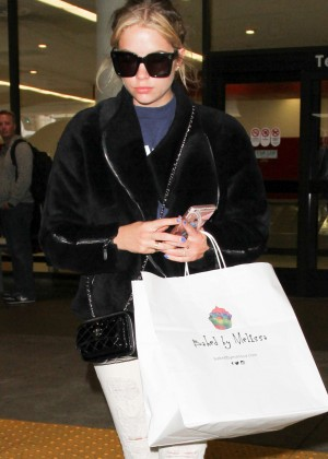 Ashley Benson at LAX Airport in Los Angeles