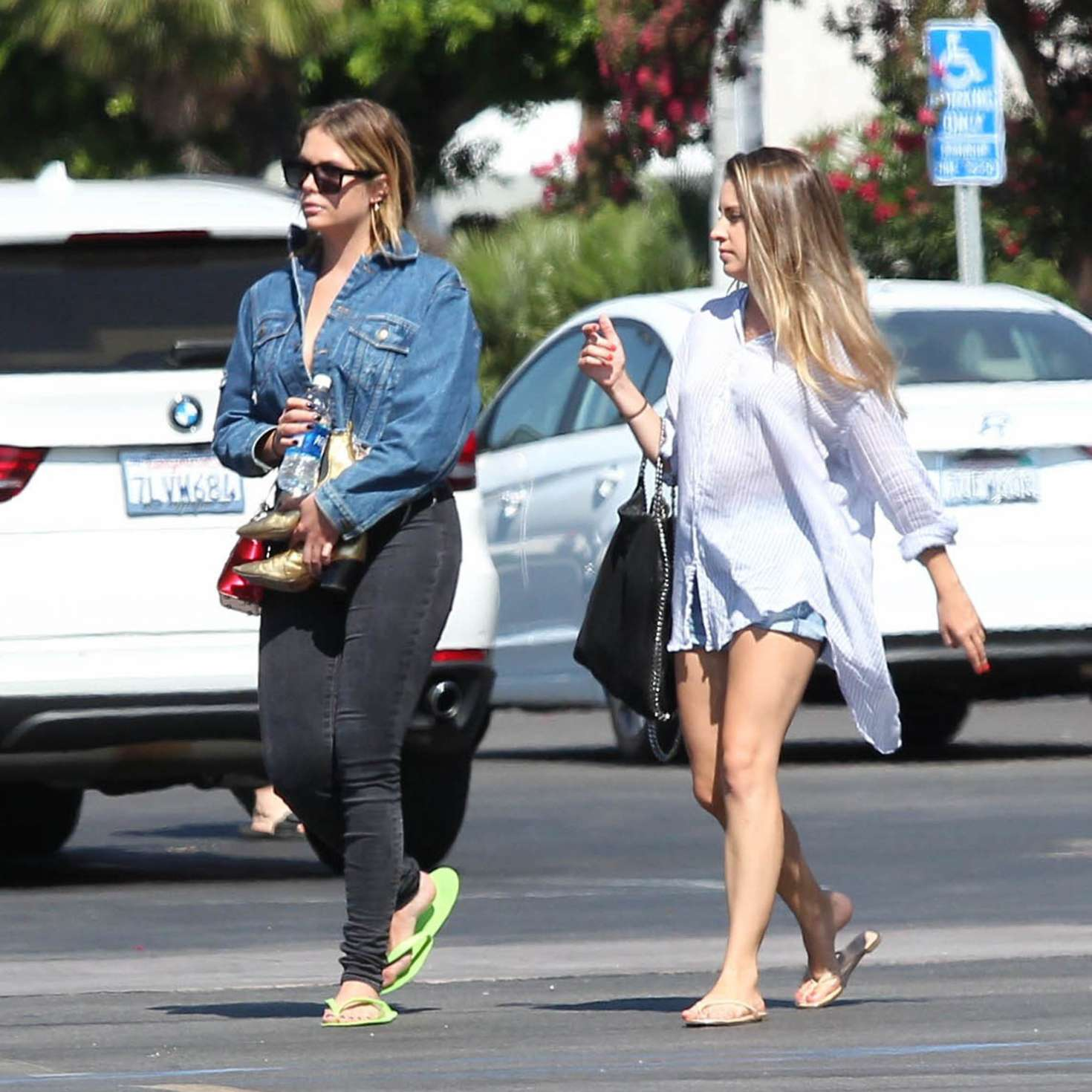 Ashley benson at nail salon in studio city 15 gotceleb for A salon of studio city