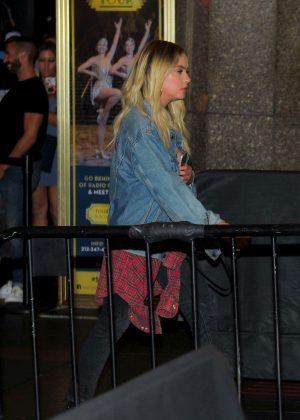 Ashley Benson at Radio City Music Hall in New York City