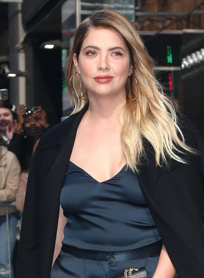 Ashley Benson at the Good Morning America Studios in NYC