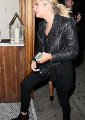 Ashley Benson at The Nice Guy in Beverly Hills