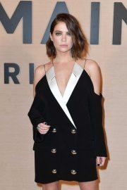 Ashley Benson - Balmain Fashion Show at Paris Fashion Week 2020
