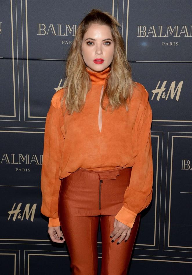 Ashley Benson – Balmain x H&M Los Angeles VIP Pre-Launch in West Hollywood