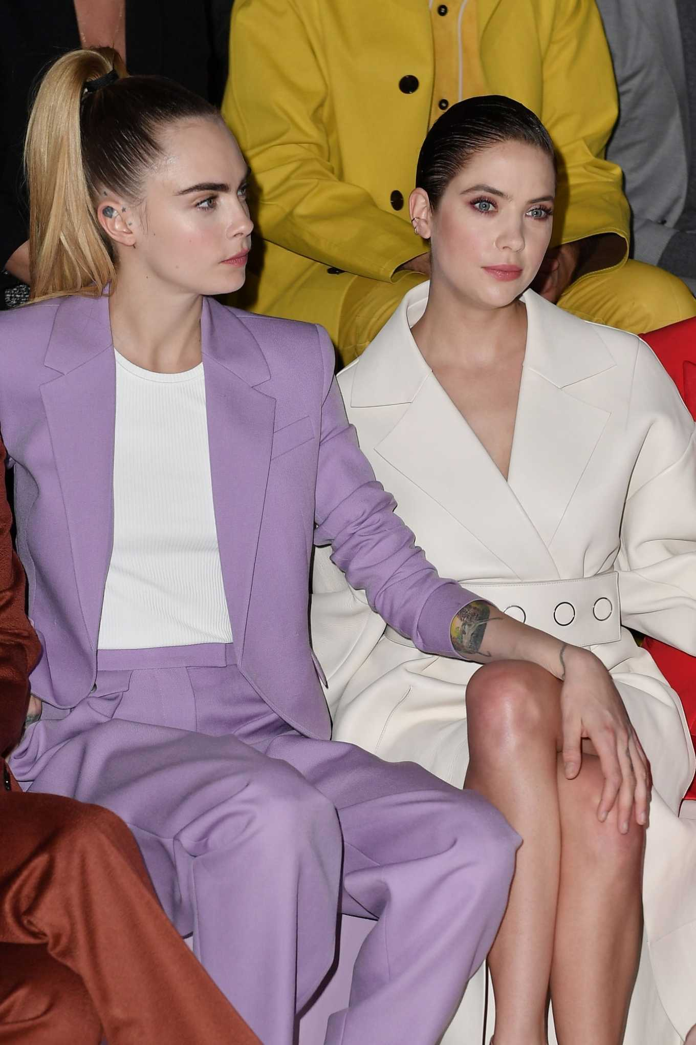 Ashley Benson 2020 : Ashley Benson – BOSS show at Milan Fashion Week 2020-04