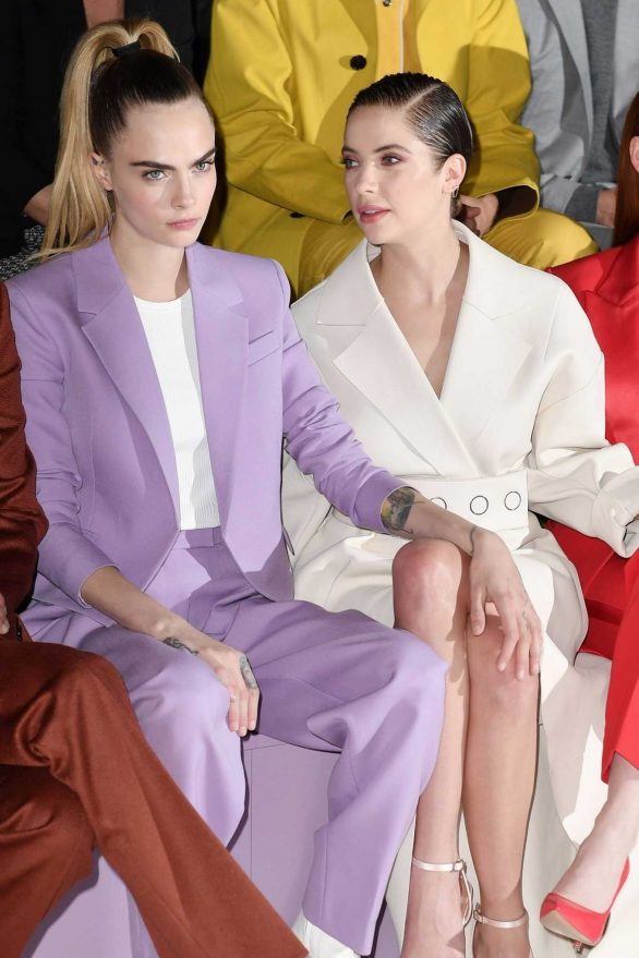 Ashley Benson - BOSS show at Milan Fashion Week 2020