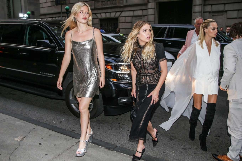 Ashley Benson, Cara Delevingne and Georgia May Jagger - Outside the 2019 TrevorLIVE New York Gala