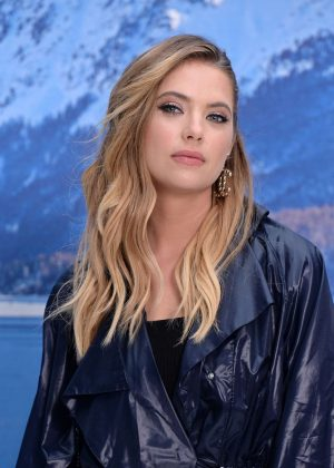 Ashley Benson - Chanel Fashion Show in Paris