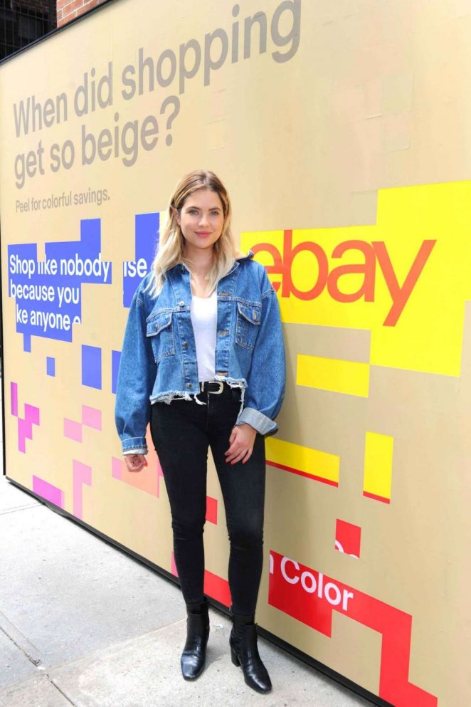 Ashley Benson - Ebay Launches 'Fill Your Cart With' campaign in NY