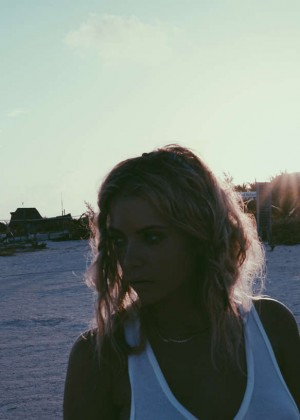 Ashley Benson: Find Your California Travel Mexico 2015 -12