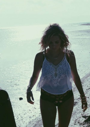 Ashley Benson: Find Your California Travel Mexico 2015 -38