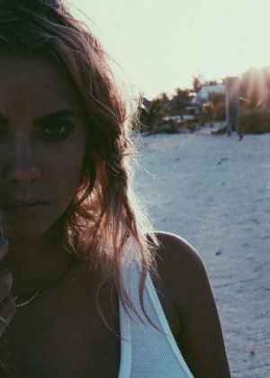 Ashley Benson: Find Your California Travel Mexico 2015 -41