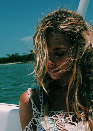 Ashley Benson: Find Your California Travel Mexico 2015 -92