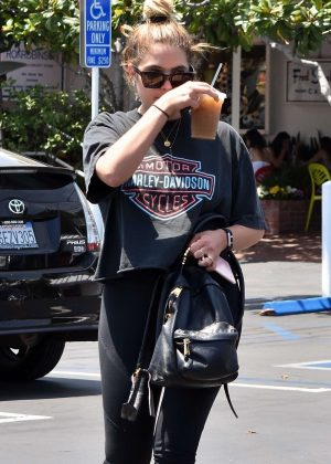 Ashley Benson - Grabbing an iced drink in Los Angeles