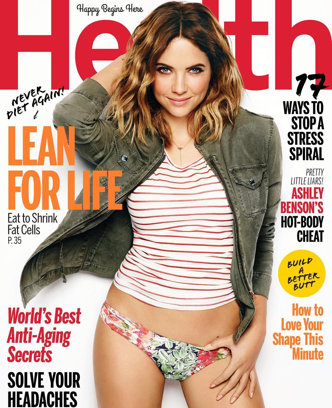 Ashley Benson - Health Magazine (March 2016)