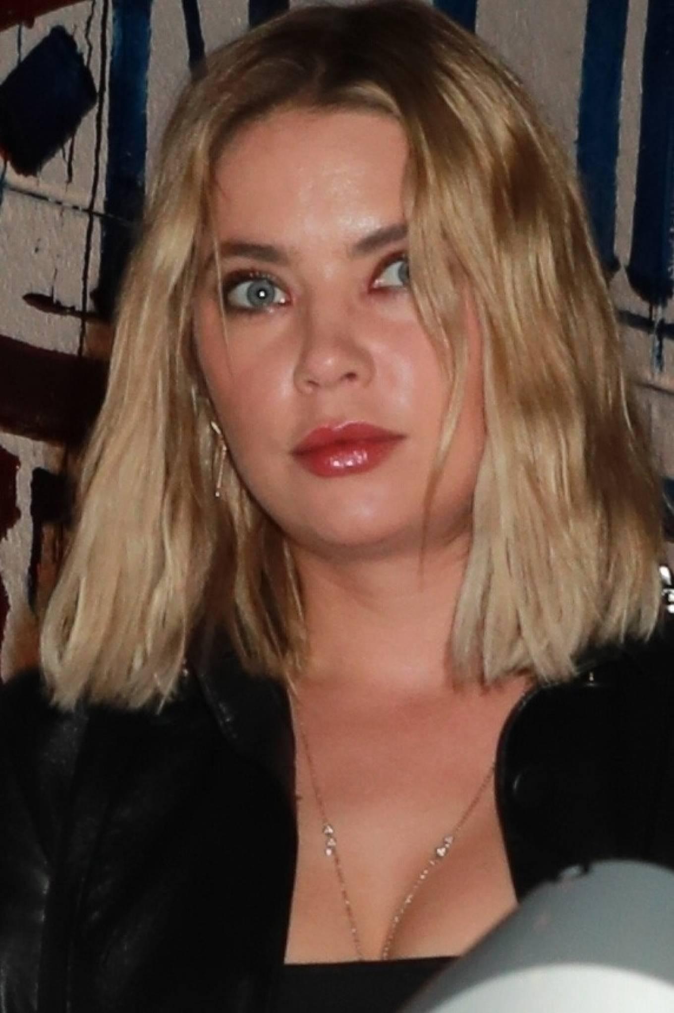 Ashley Benson 2021 : Ashley Benson – In all black leaving Craig's in West Hollywood-07