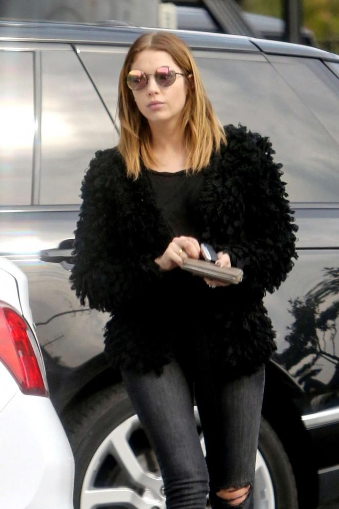 Ashley Benson in Skinny Jeans out in LA