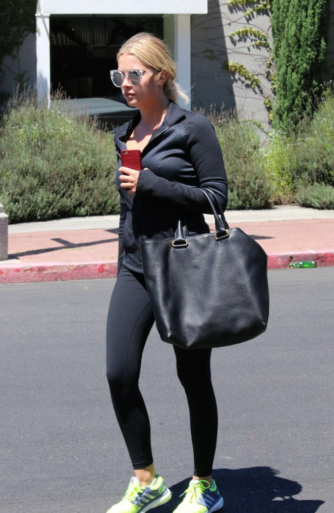 Ashley Benson Booty in Spandex -23