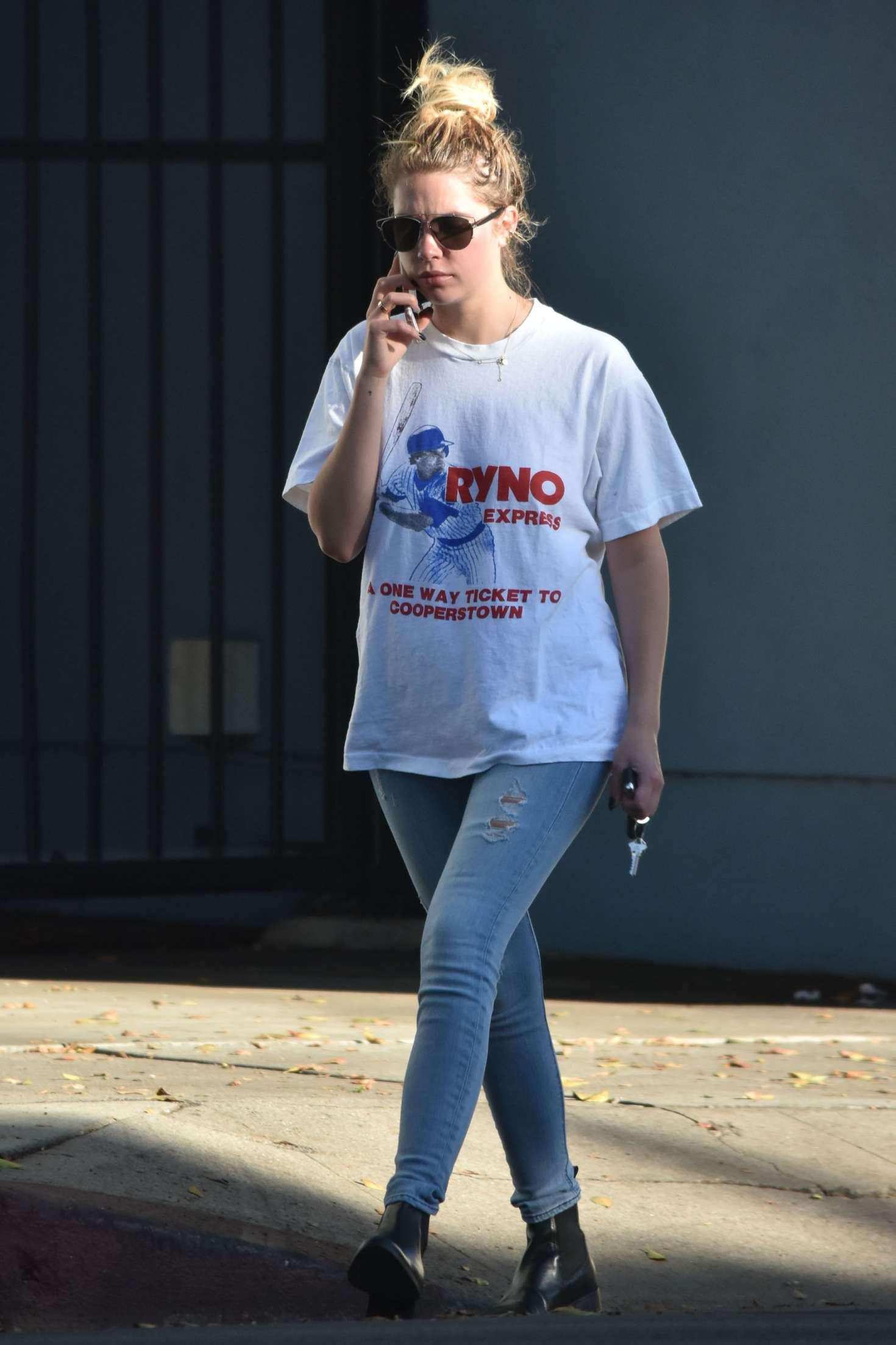 Ashley Benson 2016 : Ashley Benson in Tight Jeans -01
