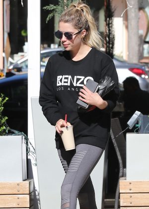 Ashley Benson in Tight Leggings out in West Hollywood