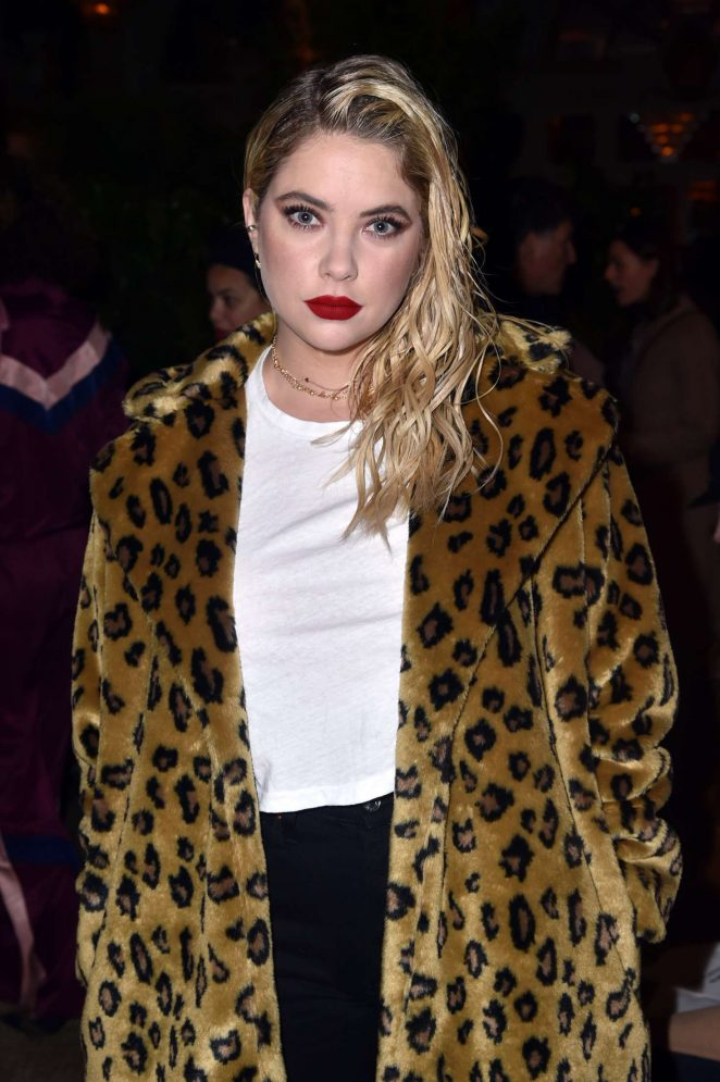 Ashley Benson - Juicy Couture Presentation Fall Winter 2018 in New York