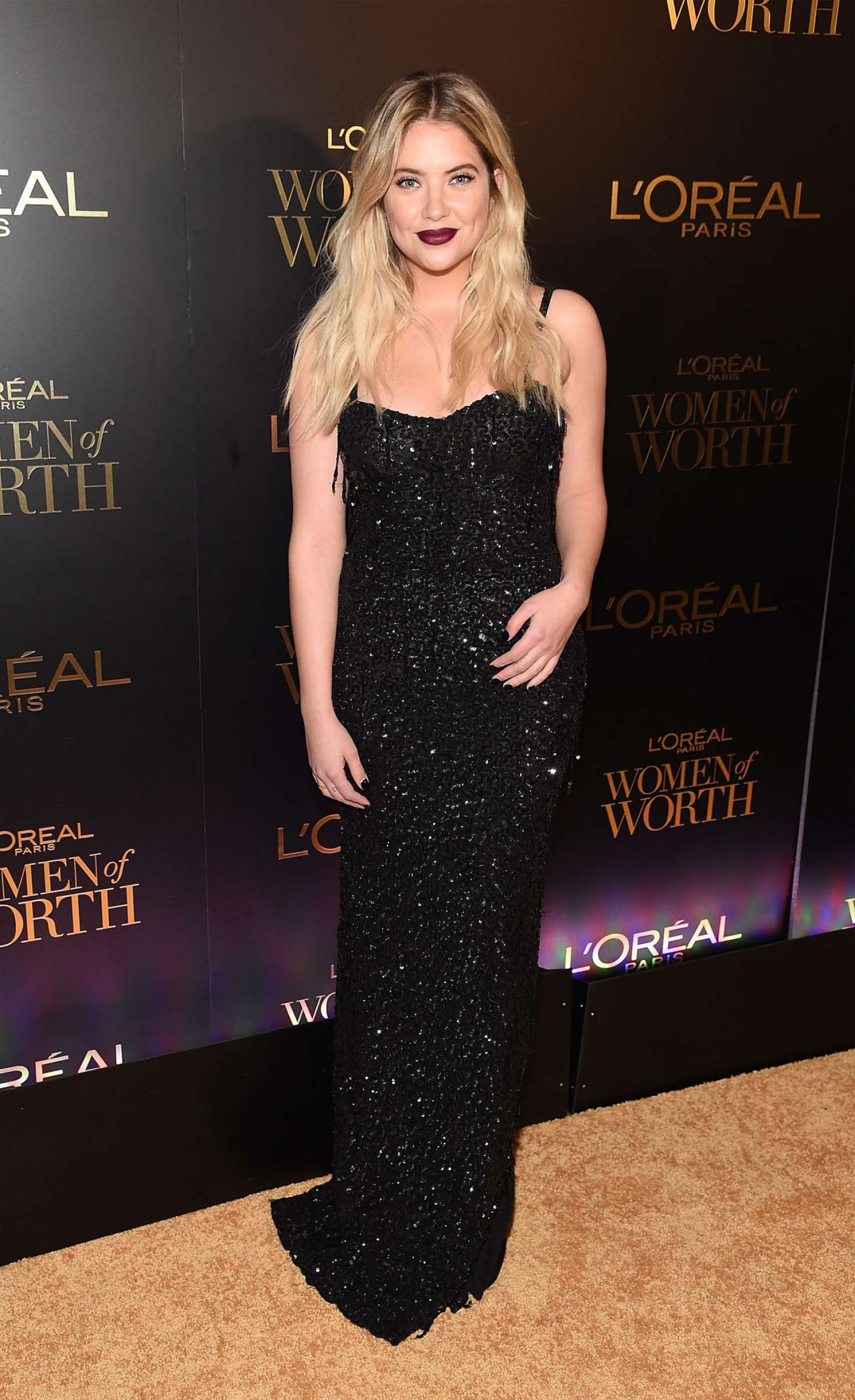 Ashley Benson 2017 : Ashley Benson – LOreal Paris Women of Worth Celebration 2017 -02