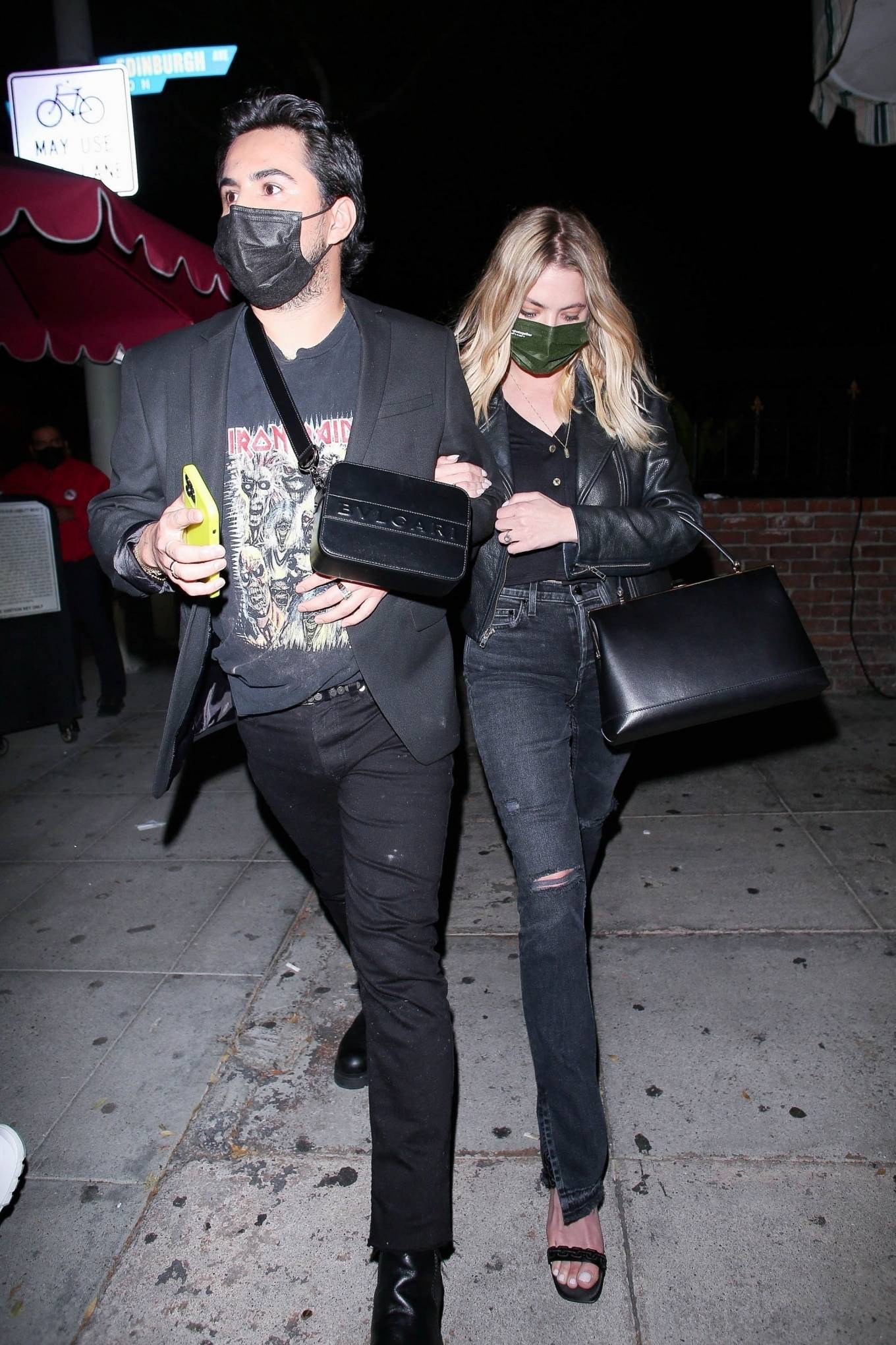 Ashley Benson - Leaves a night out at Delilah in West Hollywood