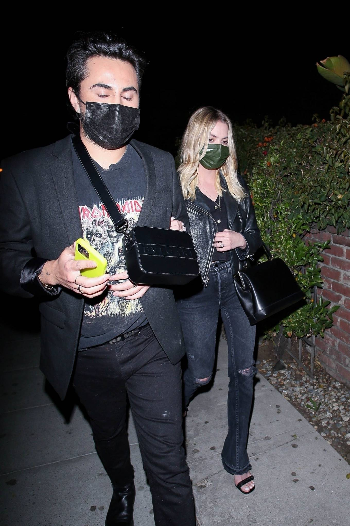 Ashley Benson 2021 : Ashley Benson – Leaves a night out at Delilah in West Hollywood-05