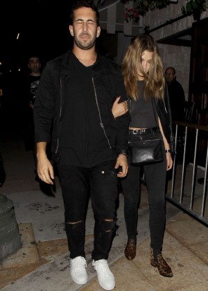 Ashley Benson - Leaving at Le Jardin Night Club in Hollywood
