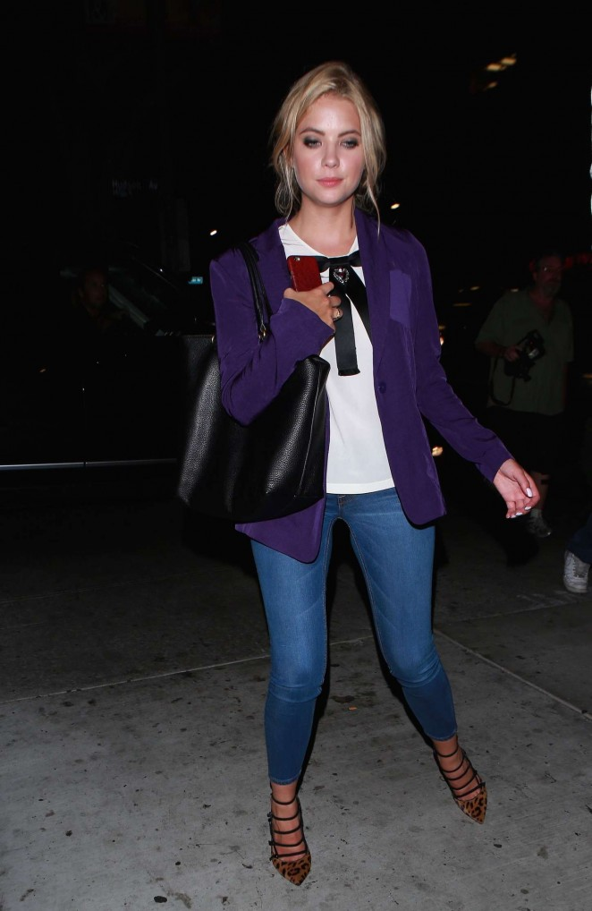 Ashley Benson - Leaving Brody Jenner's Birthday Party in Hollywood