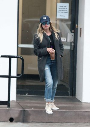 Ashley Benson - Leaving Coffee Bean in Los Angeles