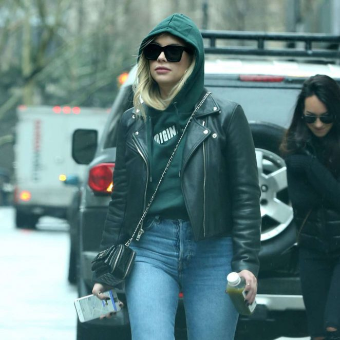 Ashley Benson  - Leaving Her Apartment in NYC