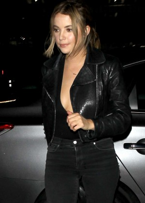 Ashley Benson - Leaving Le Jardin Night Club in Hollywood