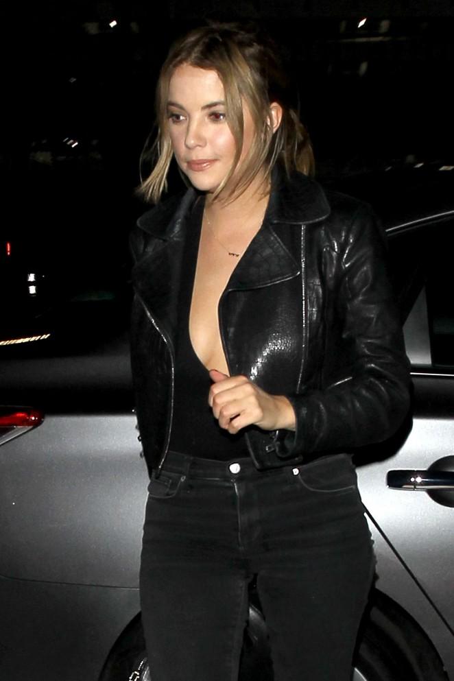 Ashley Benson – Leaving Le Jardin Night Club in Hollywood