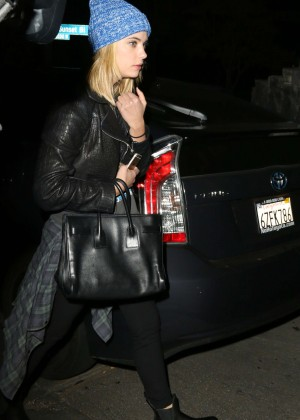 Ashley Benson - Leaving the Chateau Marmont in West Hollywood