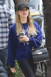 Ashley Benson - Leaving the gym in LA