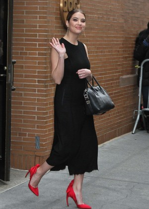 Ashley Benson Leaving 'The View' in New York