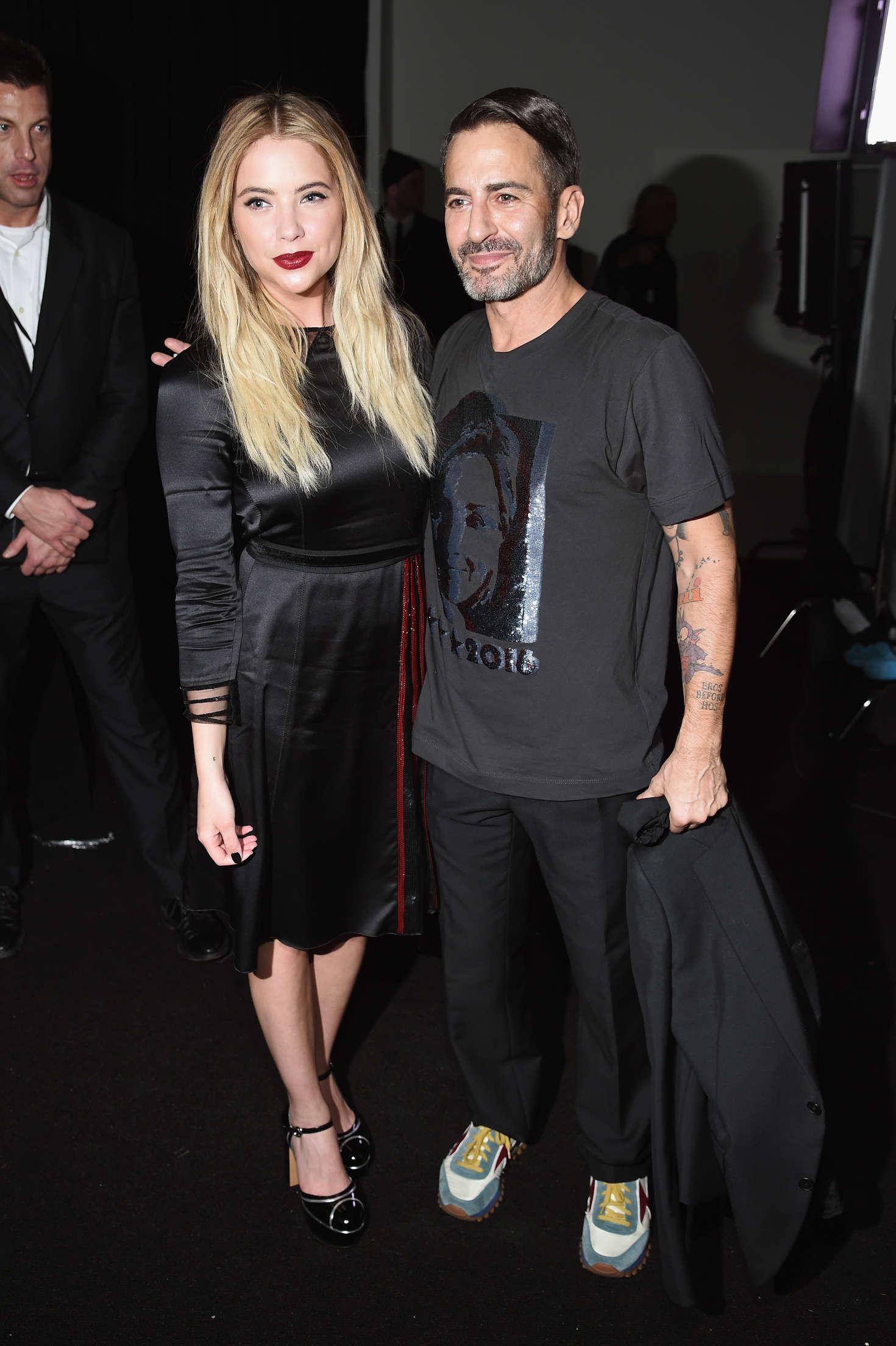 Ashley Benson - Marc Jacobs 2016 Fashion Show in NYC