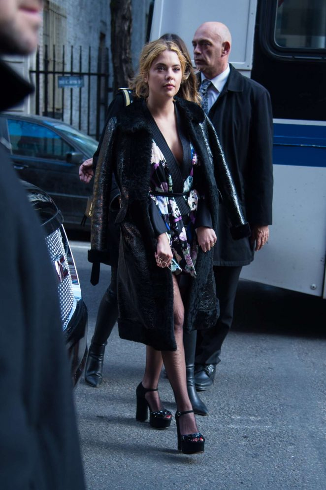 Ashley Benson – Marc Jacobs Show at 2017 NYFW in New York
