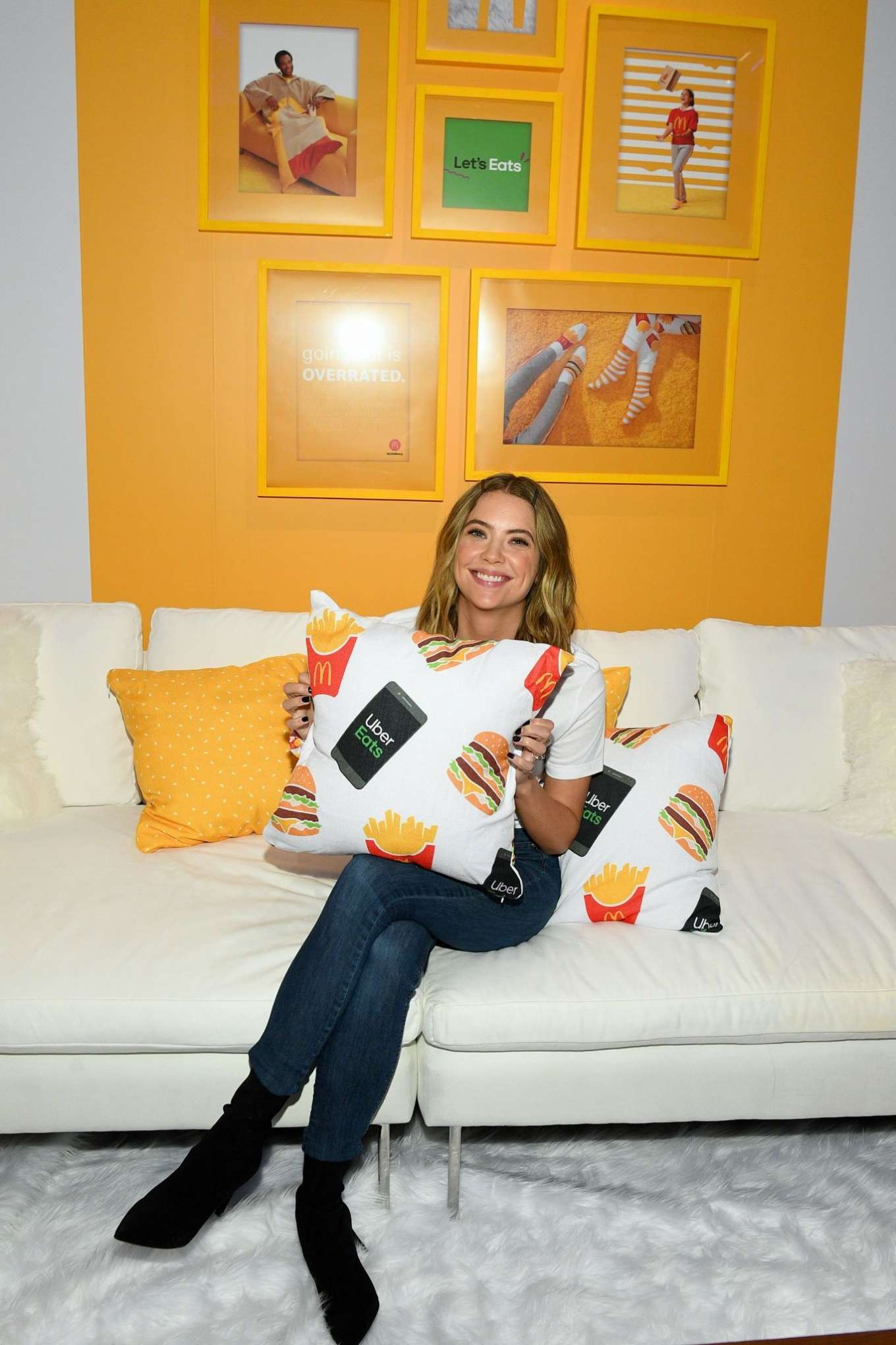 Ashley Benson 2019 : Ashley Benson – McDonalds and UberEats: McDeliverys Night In Celebration-05