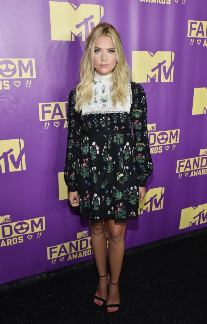 Ashley Benson - MTV Fandom Awards in San Diego