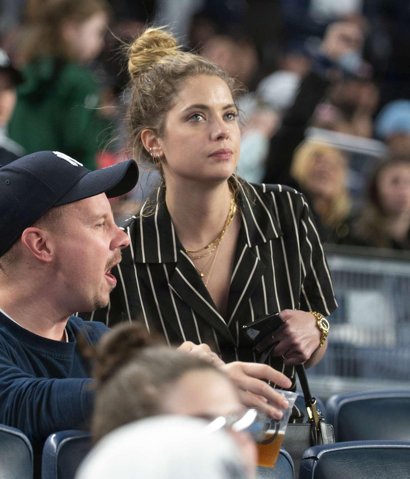 Ashley Benson - New York Yankees vs Kansas City Royals at Yankees Stadium in New York