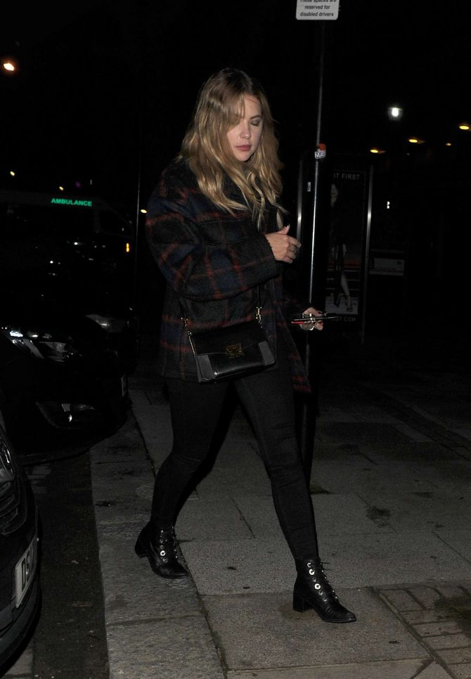 Ashley Benson - Night out at Chiltern Firehouse in Notting Hill