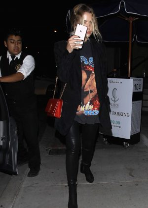 Ashley Benson Night Out in West Hollywood
