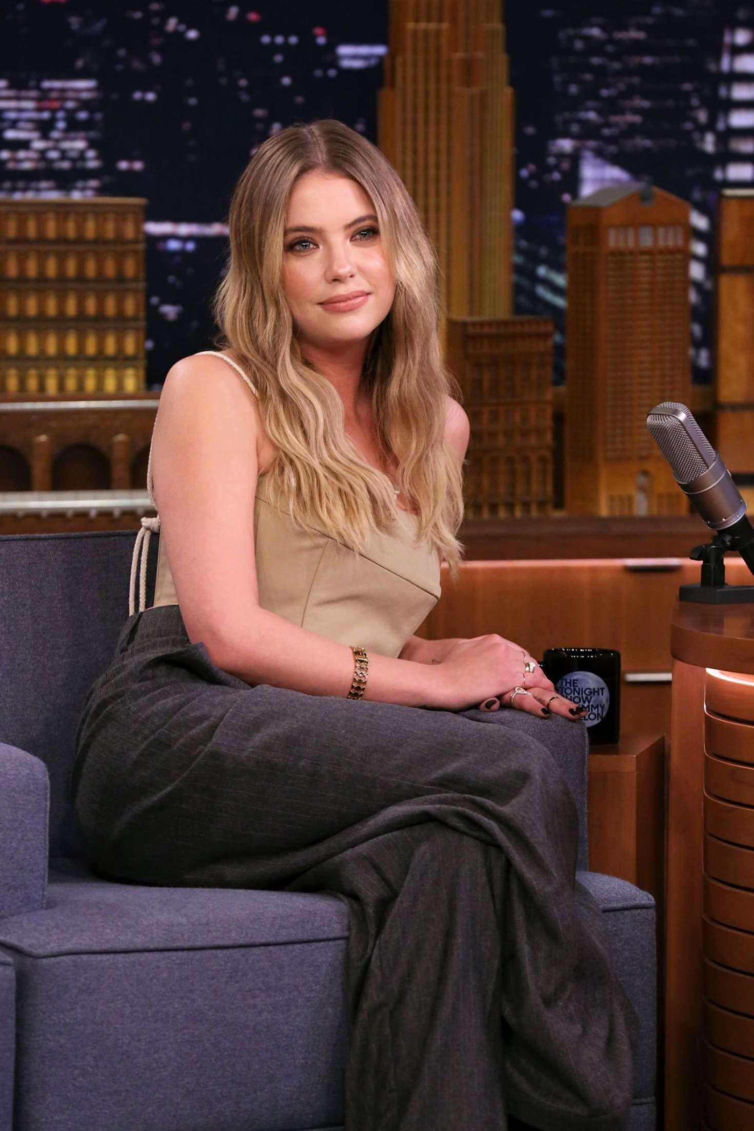 Ashley Benson - On 'The Tonight Show Starring Jimmy Fallon' in New York City