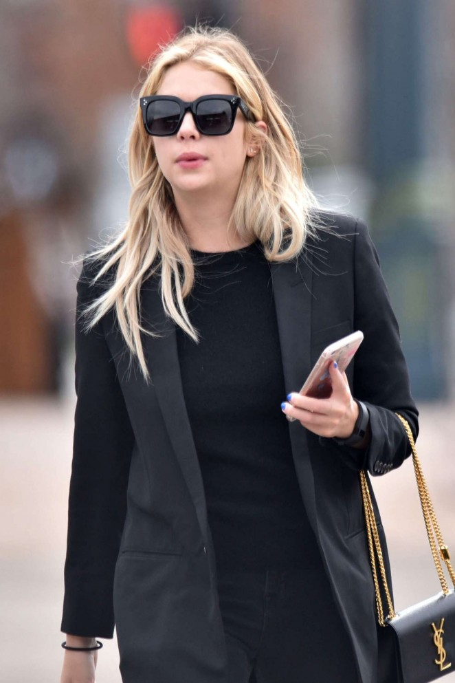 Ashley Benson - Out and about in Aspen