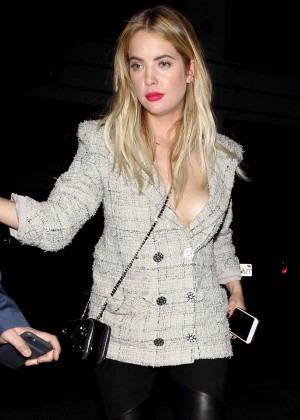 Ashley Benson - Out and about in Hollywood