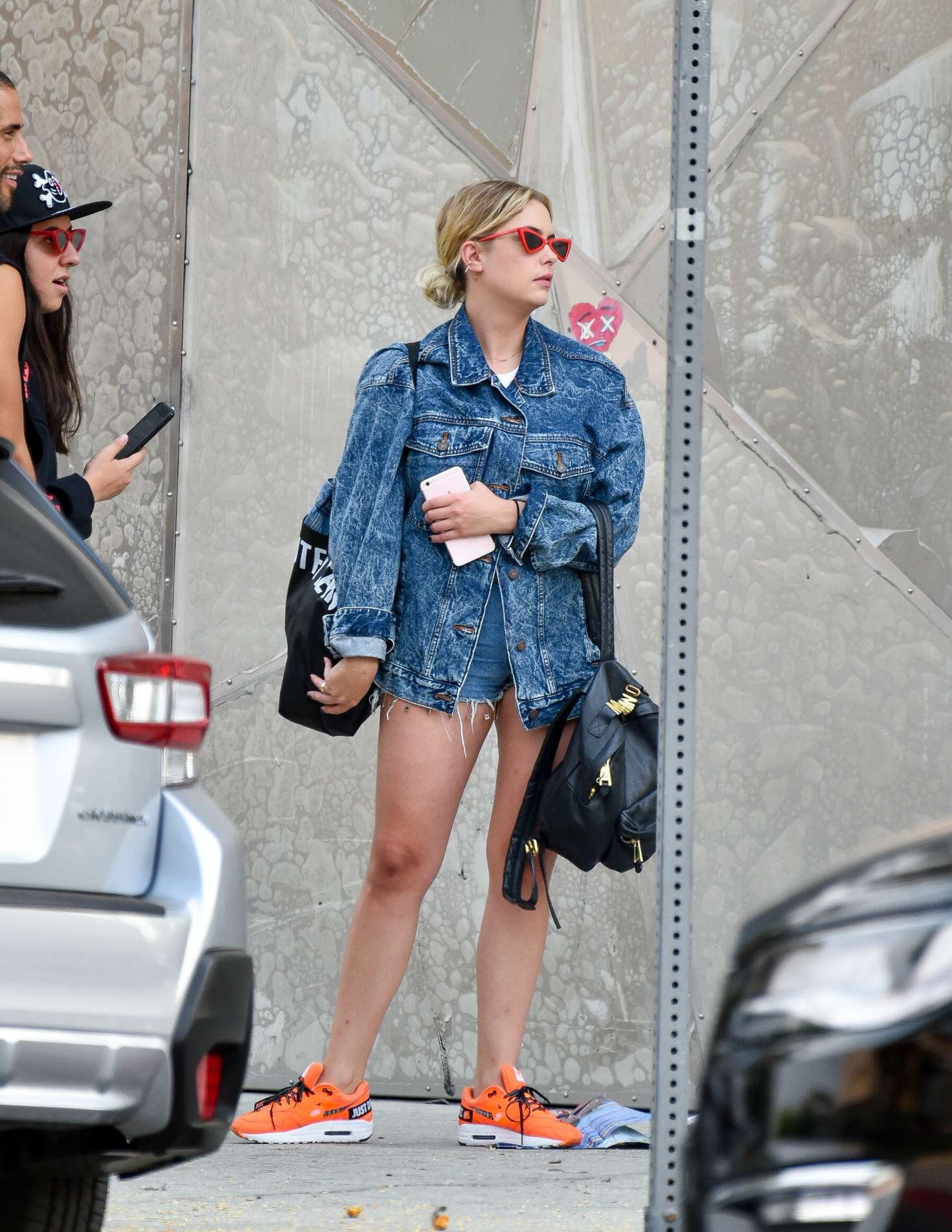 Ashley Benson - Out and about in LA